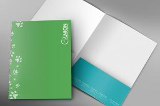 folders UNIÓN